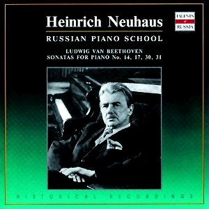 "Heinrich Neuhaus: Beethoven: Piano Sonatas Nos.14 ""Moonlight"",17 ""Tempest"", 30, 31-Russian Piano School-Talents of Russia"
