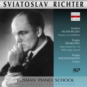 Sviatoslav Richter, piano: M. Mussorgsky - Pictures at an Exhibition/ S. Prokofiev - Piano Sonata No. 7,Op. 83 / S.Rachmaninov  -  Preludes -Piano-Instrumental