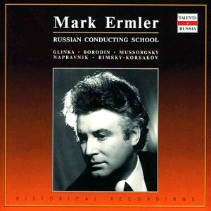 Mark Ermler: Russian Conducting School - Symphonic Orchestra of the State Academic of the Bolshoi Theatre of the USSR - Mark Ermler, conductor-Orchestre-Russe école de chef d'orchestre