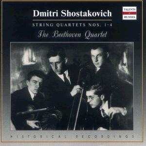 D. Shostakovich:  String Quartet Nos. 1-4:  The Beethoven Quartet-Quartet-Russian Chamber Music