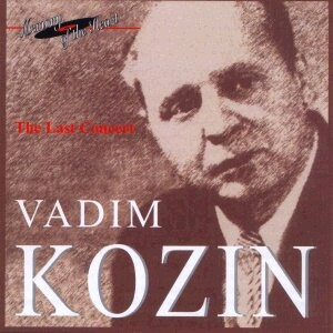 Vadim Kozin: The Last Concert - Russian Romances and Gypsy Songs -Voice and Ensemble-Russian Romance
