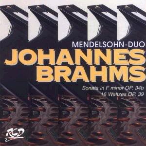 Brahms: Sonata for 2 Pianos, 16 Waltzes-Piano-Classical Assembly