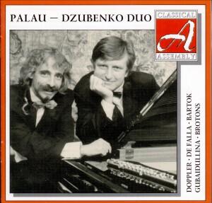 Palau - Dzubenko Duo: J. Palau, flute - G. Dzyubenko, piano: Doppler - De Falla - Bartok - Gubaidullina -Brotons-Piano and Flute-Chamber Music