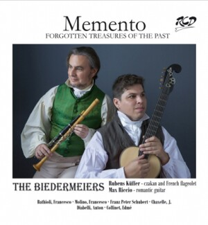 Memento: Forgotten Treasures of the Past - THE BIEDERMEIERS                       -French flageolet and Guitar-Romantic Period