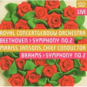 Beethoven, Brahms: Symphony No. 2 - Royal Concertgebouw Orchestra - Jansons-Orchestra-Orchestral Works