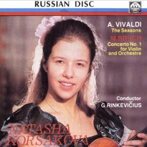 Natasha Korsakova , violin - A. Vivaldi -The Seasons. M. Bruch - Concerto No. 1 for Violin and Orchestra-Violin and Orchestra-Violin Concerto