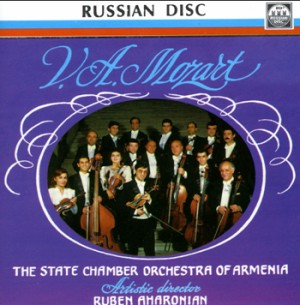 W.A. Mozart - The State Chamber Orchestra of Armenia - Ruben Aharonian-Chamber Orchestra-Chamber Music