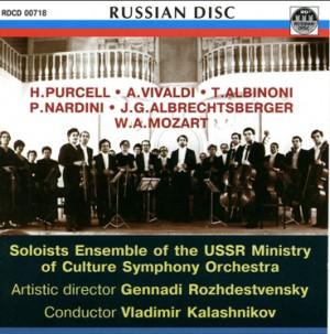 Soloists Ensemble of the USSR Ministry of Culture Symphony Orchestra - G. Rozhdestvensky - V. Kalashnikov-Ensemble-Orchestral Works