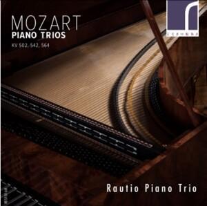 W.A. Mozart - Piano Trios, KV 502, 542 & 564 - Rautio Piano Trio-Piano Trio-Instrumental