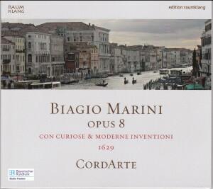 Biagio Marini - Opus 8 con curiose & moderne inventioni (1629) - Ensemble Cordarte-Chamber Ensemble-Baroque
