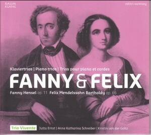 Fanny and Felix Mendelssohn - Piano Trios-Piano and Cello