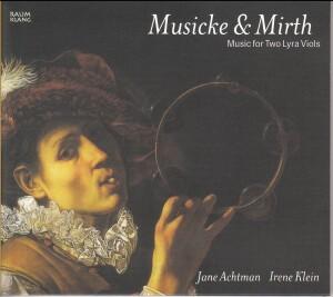 Musicke & Mirth: Music for Two Lyra Viols-Baroque