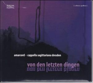 Von den letzten Dingen - Baroque Funeral Music from Central Germany-Baroque