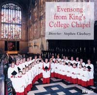 Evensong and Vespers from King's College Cambridge - Stephen Cleobury-Choir-Choral Collection