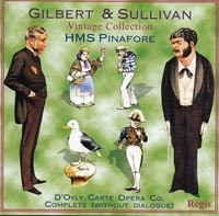 """Gilbert & Sullivan: """"H.M.S. Pinafore"""" (complete without dialogue)."""