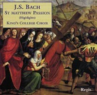 St Matthew Passion (Highlights).-Choir-Sacred Music