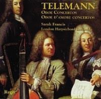 Telemann - Oboe Concertos - Oboe D'amore Concertos (Vol. II.)-Baroque