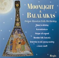 Moonlight & Balalaikas,  Osipov Russian Folk Orchestra - Nikolai Kalinin.-Folk Music-Russian Folk Music