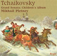 Tchaikovsky - Grand Sonata in G major Op. 37,  Children's Album, Op.39  - M. Pletnev, piano-Great Performers