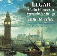 Elgar - Cello Concerto, Serenade For Strings,  Paul Tortelier-Cello Collection