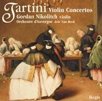 Violin Concertos D15, D78, D123, D80, D115 / Gordan Nikolitch.-Violin