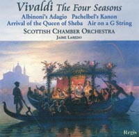 Vivaldi - Four Seasons (plus baroque favourites) , Albinoni: Adagio, Pachelbe-Baroque