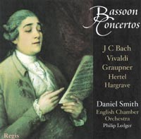 Baroque Bassoon Concertos -  Daniel Smith-Oboe-Bassoon Collection