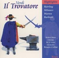 Verdi - Il Trovatore (Highlights) / Bjorling / Milanov / Warren / Barbieri.-Opera & Vocal Collection