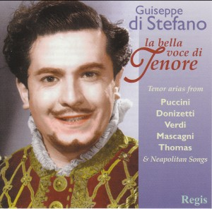 Giuseppe di Stefano, La Bella Voce di Tenore - Tenor arias from Puccini, Verdi, Donizetti...-Oper-Vocal and Opera Collection
