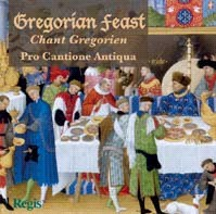 Gregorian Feast - Pro Cantione Antiqua-Chant-Choral Collection