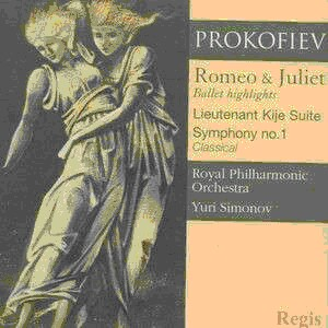 PROKOFIEV - Romeo and Juliet - Simonov-Orchestra-Ballet Music