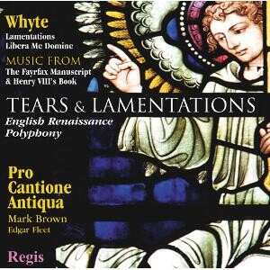Tears & Lamentations - English Renaissance Music-Renaissance