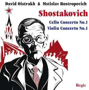 Shostakovich - Cello Concerto & Violin Concerto - M. Rostropovich and D. Oistrakh-Piano