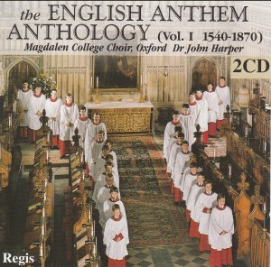 Anthology of English Anthems 1540 - 1870 Vol. 1-Choral Collection