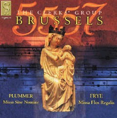 Brussels - Masses by Frye and Plummer from the Brussels-Vocal Collection