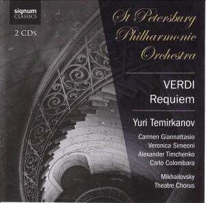 Verdi: Requiem - St. Petersburg Philharmonic Orchestra, Y. Temirkanov, conductor-Sacred Songs of Sorrow-Sacred Oratorios