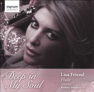 Deep in My Soul - Lisa Friend, flute - Rodney Friend, violin-Flute