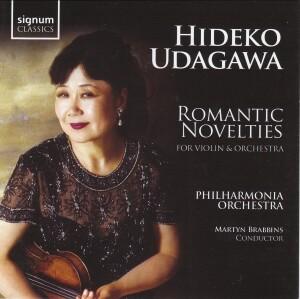 Hideko Udagawa - Romantic Novelties for Violin and Orchestra-Violin