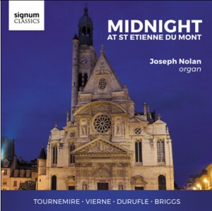 M.DURUFLE - L.VIERNE - C.TOURNEMIRE - MIDNIGHT AT ST ETIENNE DU MONT