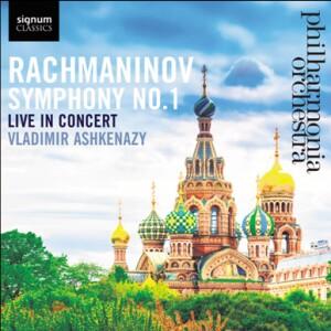 S. RACHMANINOV - Symphony No 1 in D minor Op. 13 - Philharmonia Orchestra - Vladimir Ashkenazy, conductor