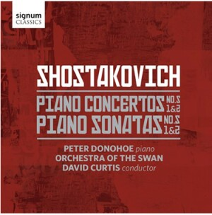 D.D. SHOSTAKOVICH - Piano Concertos NOS. 1 and 2 -  Piano Sonatas  NOS. 1 and 2-Orchestre