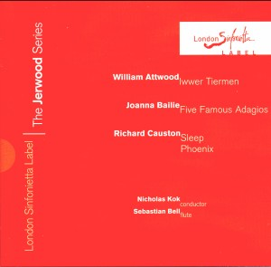 The Jerwood Series 4: Attwood/ Bailie/ Causton-Orchestra-Flute Collection