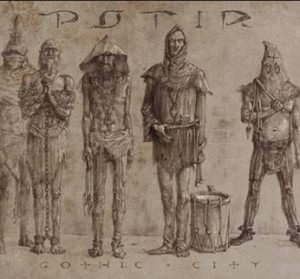 Potir - Gothic City - European medieval music  -Ensemble-Medieval Period