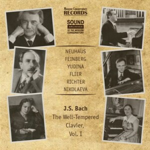 BACH - The WELL-Tempered Clavier, Vol.I - RICHTER - NIKOLAYEVA - YUDINA - NEUHAUS - FEINBERG - FLIER-Piano-Instrumental