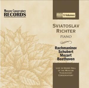 RACHMANINOV - SCHUBERT - MOZART - BEETCHVEN - Sviatoslav Richter, piano