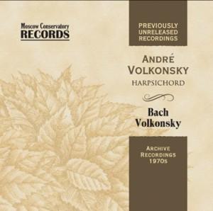 Andre Volkonsky, harpsichord -  Bach - Volkonsky - Deluxe Edition-Harpsichord-Chamber Music