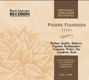 Pierre Fournier, cello - A. Dedyukhin, piano - Gershwin - Rachmaninov - Paganini - J.S. Bach etc...-Piano and Cello-Chamber Music