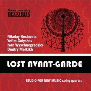 "LOST AVANGARD - STRING QUARTET ""STUDIO FOR NEW MUSIC"""