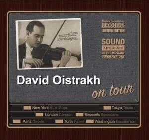 David Oistrakh on tour