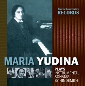 Maria Yudina, piano - Instrumental Sonatas by Hindemith-Piano-Instrumental